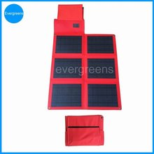 36W foldable monocrystal solar charger, high watt power solar panel