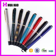 Custom Promotional Metal Engraved Ball Point Free Ink Roller Pens Roller Refill Metal Ball Pen With Logo