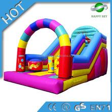2015 New desgin residential inflatable slides,giant inflatable slide,inflatable combo slide bouncer