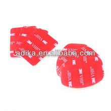 Accessories Go pro 3M sticker Set (3pcs for flat, 3pcs for arc mount) for GoPros Heros 4/3+/3/2/1/SJ4000/XIAOmi yi GP14