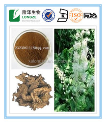 Free sample Triterpene Glycosides 2.5%,5%,8% Black Cohosh P.E. Black Cohosh Extract Powder