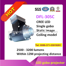 Professional High Brightness Led Gobo Projector For Outdoor Advertising