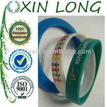multicolor printed silicone bracelets for basketball