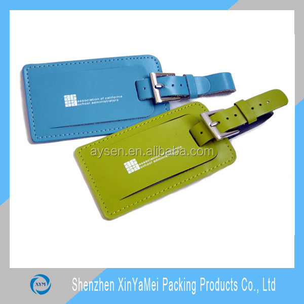 Beauty Wholesale Leather Luggage Tags