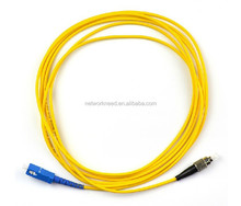 FC to SC Fiber Optic Patch Cable