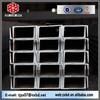 JIS standard hot rolled channel steel, carbon mild structure steel U channel