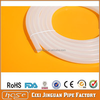 Good Quality 7x10mm Food Grade Silicone Hose Tube For Coffee Maker, FDA Approved Silicone Hookah Hose Tube Silicone Vacuum Hose