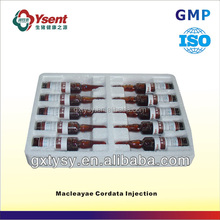 Small Simple Veterinary Medicine Bottlefor Poultry of Macleayae Cordata Injection