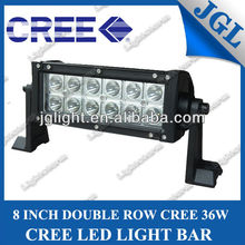 7 INCH 36w LED work light bar COMBO beam 10-30v alloy off road driving lamp