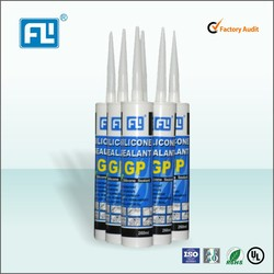 One component acetic general purpose silicone sealant for application glass and aluminum