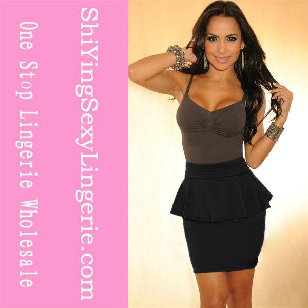 mini sexo mulheres vestido de <span class=keywords><strong>festa</strong></span> preto