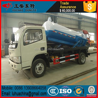 3000 liters vacuum tank truck sewage suction truck sewer cleaning truck