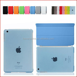 50pcs PU Leather Magnetic Front Cover+ 50pcs Matte Hard Back Case For IPAD MINI for ipad mini 2 Retina for IPAD MINI 3