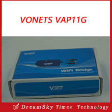 Vonets VAP11G RJ45 Mini 802.11G/B wifi bridge / wifi amplifier/extender the best partner for Smart IPTV BOX, IP camera