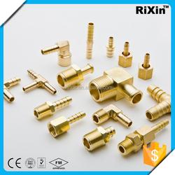 RX-1200 wholesale assorted high pressure hose clip shose barb connector 1/4 brass female hose nipple