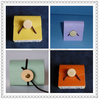 Lightweight thin colorful soft wooden gift box wholesale