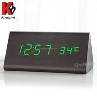 Wholesale green led digital multifunction desktop weather forecast clock
