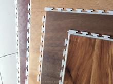 2015 new Wood grain plastic flooring in china