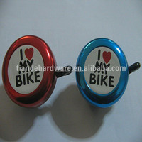 dangdang bicycle bell custom logo. tradition coloruful bike bell/warning ring bell
