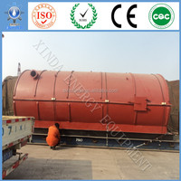 XD-CE/ISO used tyre pyrolysis plant waste tire to oil pyrolysis