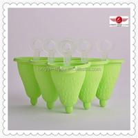 New Design Popsicle Mold Silicone Ice Cream Shape Silicone Mold