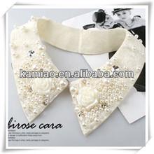plastic flower jewelry collar neck designs kurtis collares de moda 2015
