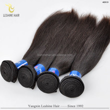 directly factory double weft 8a 7a 6a grade cheap wholesale unprocessed remy virgin 3 bundle straight brazillian hair