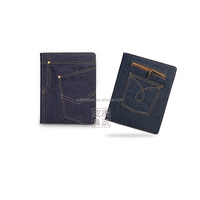 High quality jeans series case for ipad with smart sleep and wake function