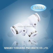 2015 Best sales products in alibaba reasonable price plastic mini pneumatic fittings