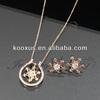 Rhinestone Star Fashion Necklace Set jewelry