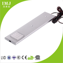 12v 1.8w/3w button switch new life led cabinet lighting warm light new product