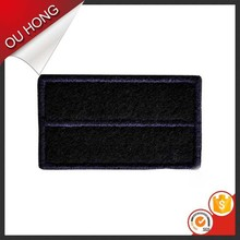 High Quality Mellow Border Vecro Backing Embroidery Decorative Clothing Patches