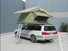 Camping trailer folding car tent with four room tent