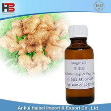high quality ginger extract terpenes essential oil for massage