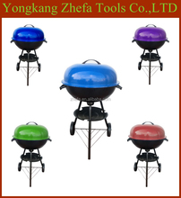 2015 New Product 45cm High Quality Colorful Apple Barbecue Kettle BBQ Grill for sale