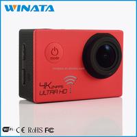 4K Camera 2.0'' LCD Screen 170 Degree Wide Angle Sport Camera WiFi Remote Control Waterproof 1080P Full HD SJCAM Action Camera