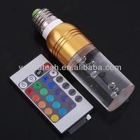 Domestic landscape lighting color LED lamp 220V 3w LED strip light remote control Electronic transformer
