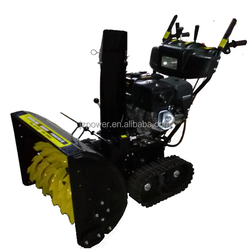 7818T,snow blower rubber track,loncin or zongshen engine powered snow thorwer,snow cleaning machinery