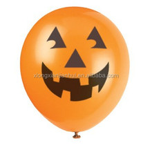 12inch air inflated rubber Balloon LED flashing balloon latex material for halloween festival toys