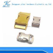 Handbags accessories / metal accessories for handbags/metal curved side release buckle