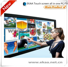 3D touch screen all in one pc, Smart TV LED/LCD All In One Interactive Whiteboard for classroom
