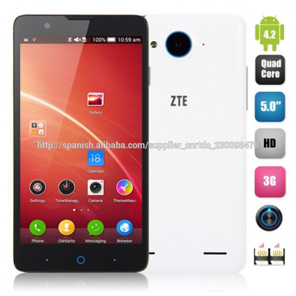 ZTE V5 Red Bull 5 pulgadas Snapdragon MSM8926 Quad Core 2GB RAM 8GB ROM Dual SIM 13.0MP Cámara