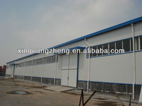 modular steel structure chicken poultry layer chicken house shed design