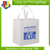 Colored non woven tote bags / Full color printing tote bag