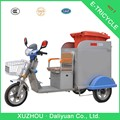 Tienda cromado eléctrica triciclo de carga