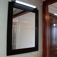 2015New style exterior glass wall panels king mirror