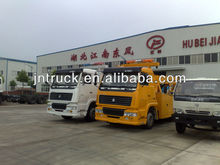 SINO HOWO 8*4 heavy duty tow wrecker truck