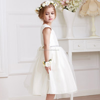 Summer autumn little girl formal dress evening dresses