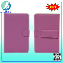 Fancy 7 inch Universal Leather Cover Tablet Case With Keyboard