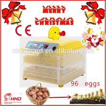 más calientes de venta ce aprobado automático completo 96 pollo incubadora de huevos para la venta